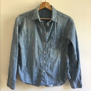 Uniqlo jean shirt